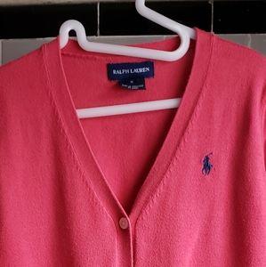 Girl's Polo Cardigan